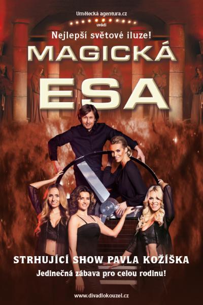 plakát Magická esa 2017
