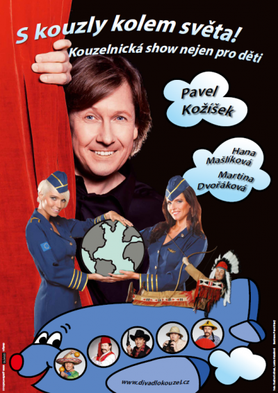plakát S kouzly kolem světa! 2017